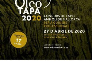 Noves dates!!! Oberta la inscripció al concurs per cuiners professionals Oleotapa 2020